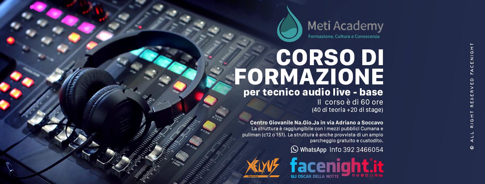 Corso Tecnico Audio